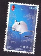 Hong Kong 2008 Year Of The Rat - 1997-... Sonderverwaltungszone Der China