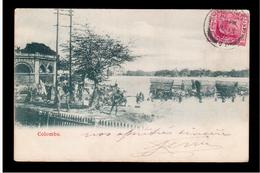 CEYLON  Colombo 1906 OLD POSTCARD - Sri Lanka (Ceylon)