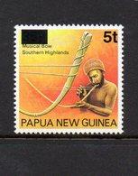 PAPUA NEW GUINEA, 1994 5t ON 35t OVERPRINT MUSICAL BOW MNH - Papua New Guinea