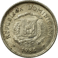 Monnaie, Dominican Republic, 10 Centavos, 1984, Dominican Republic Mint, Mexico - Dominicaine