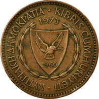 Monnaie, Chypre, 5 Mils, 1973, TB+, Bronze, KM:39 - Chypre