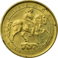 Monnaie, Bulgarie, Lev, 1992, TB+, Nickel-brass, KM:202 - Bulgaria