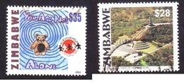 Zimbawe Recent Used Stamps - Zimbabwe (1980-...)
