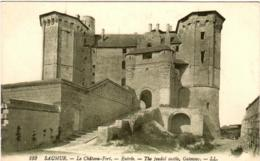 5MOM 87. SAUMUR - LE CHATEAU FORT - Saumur