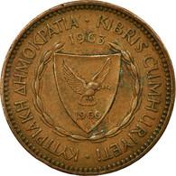 Monnaie, Chypre, 5 Mils, 1963, TB+, Bronze, KM:39 - Chypre