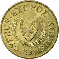 Monnaie, Chypre, 2 Cents, 1998, TTB, Nickel-brass, KM:54.3 - Cyprus