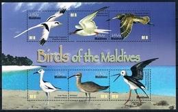 Bloc Sheet Oiseaux  Birds  Neuf  MNH **  Maldives 2010 - Cigognes & échassiers