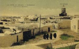 Korbous - Tunisie  La Côte Du Soleil- L'arrivée à Soliman - Cpa - Paypal Free - Tunisie