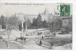 DEP. 13 AIX EN PROVENCE - ECOLE NORMALE - FONTAINE GRANET - Aix En Provence