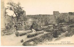 Rabat- Maroc- Vue Générale Du Jardin De La Médersa- Cpa Edit S.Elgaly - Paypal Sans Frais - Rabat
