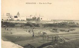 Mogador - Maroc- Vue De La Plage -  Cpa  Edit à La Civette- - Paypal Sans Frais - Maroc