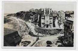 (RECTO / VERSO) GRANVILLE EN 1947 - N° 186 - LA PLACE DU CASINO - FORMAT CPA VOYAGEE - Granville