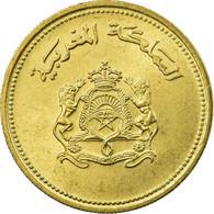 Monnaie, Maroc, Al-Hassan II, 20 Santimat, 1987, Paris, TTB, Aluminum-Bronze - Marruecos