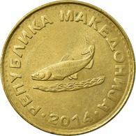 Monnaie, Macédoine, 2 Denari, 2014, TB+, Laiton - Macédoine