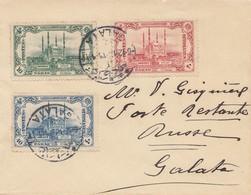 Türkei: 1918: Brief Nach Galata - Turkey