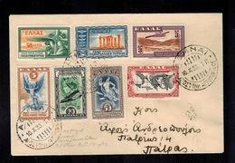Storia Postale Grecia 1933 - Greece