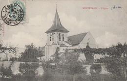 77 - MONTEVRAIN - L' Eglise - France