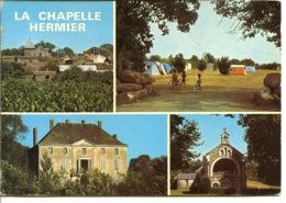 85220 LA CHAPELLE-HERMIER - Centre Bourg Et église, Le Camping, Le Château, La Chapelle De Gareaux - France