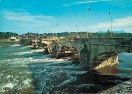 Tours Le Pont Wilson Pliure 1978 CPM Ou CPSM - Tours