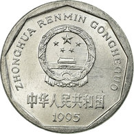 Monnaie, CHINA, PEOPLE'S REPUBLIC, Jiao, 1995, TTB, Aluminium, KM:335 - Chine
