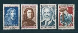 France Timbres De 1965  N°1442  A  1445  Timbres Oblitérés - France