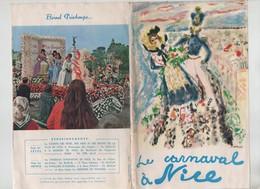 Carnaval De Nice Comité Des Fêtes Des Arts Et Des Sports Programme 1964 1965 - Ohne Zuordnung