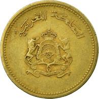 Monnaie, Maroc, Al-Hassan II, 10 Santimat, 1987, Paris, TB+, Aluminum-Bronze - Maroc