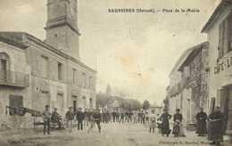 SAUSSINES (Herault) Place De La Mairie RV - France