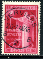 Belgique COB 736 ° Verviers - Belgique