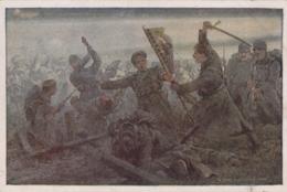 AK - I. WK - Rotes Kreuz Nr. 433 - Zsigismund Csepyrettet Die Fahne - Rotes Kreuz