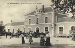 PARTHENAY  Gare Des Chemins De Fer De L'Etat RV - Parthenay