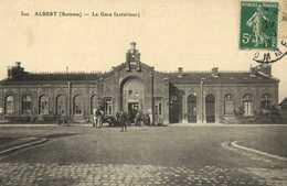 ALBERT (Somme) La Gare (exterieur) RV - Albert