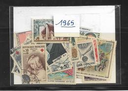 France Année  1965 Complète En Oblitéré N °1435 A 1467 Cote 15 € - France