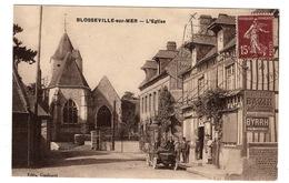 76 SEINE MARITIME - BLOSSEVILLE SUR MER L'Eglise - Autres Communes