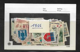France Année  1966 Complète En Oblitéré N °1468 A 1510  Cote 18 € - France