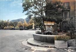 SERRES - La Place De La Liberté - Fontaine - Renault 4L - Autres Communes