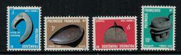 Polynésie Française // Timbres Taxes // 1984 Timbres Neufs** MNH Y&T No.4-7 - Timbres-taxe