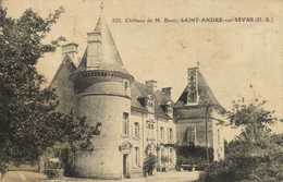 Chateau De M Buor SAINT ANDRE Sur SEVRE (D S) RV - Autres Communes