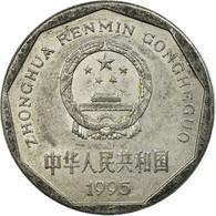 Monnaie, CHINA, PEOPLE'S REPUBLIC, Jiao, 1995, TB+, Aluminium, KM:335 - Chine
