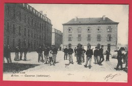 Arlon - Caserne ( Intérieur ) - 1905 ( Voir Verso ) - Aarlen
