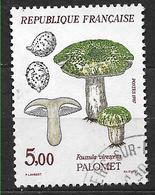 FRANCE 2491 Flore Et Faune Champignons Palomet Russula Virescens . - France