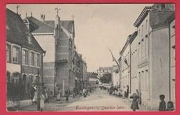Bastogne - Quartier Latin .... Superbe Animation - 1910 ( Voir Verso ) - Bastenaken