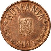Monnaie, Roumanie, 5 Bani, 2013, TB+, Copper Plated Steel - Romania