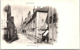 45 MONTARGIS - échappée Sur La Rue Du Long. - Montargis