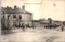 45 MONTARGIS - La Caserne Gudin, Arrivée De La Troupe. - Montargis