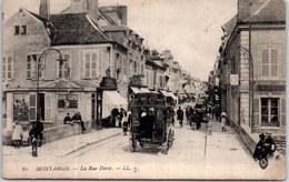 45 MONTARGIS - La Rue Dorée (attelageà. - Montargis