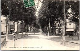 45 MONTARGIS - L'avenue De La Gare - Vue D'ensemble. - Montargis