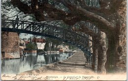 45 MONTARGIS - Le Canal Et La Passerelle - Montargis