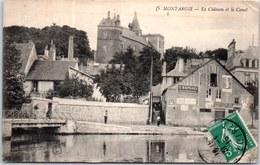 45 MONTARGIS - Le Château - Le Canal - - Montargis
