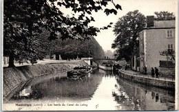 45 MONTARGIS - Les Bords Du Canal Du Loing. - Montargis